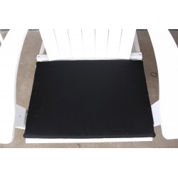 Adirondack Chair Seat Cushion - Black