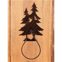 Wrought Iron Pine Tree Collection - Towel Holders