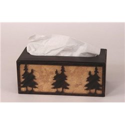 Wrought Iron Pine Tree Collection - Tissue Box Covers