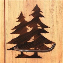Wrought Iron Pine Tree Collection - Toilet Paper Holders