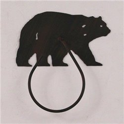 Wrought Iron Bear Collection - Towel Holders
