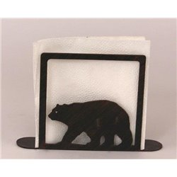 Wrought Iron Bear Collection - Paper Towel / Napkin Holders