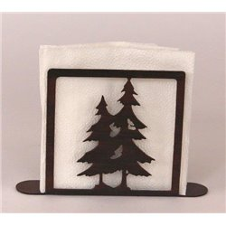 Wrought Iron Pine Tree Collection - Paper Towel / Napkin Holders