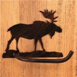 Wrought Iron Moose Collection - Toilet Paper Holders