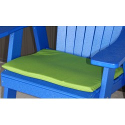 Adirondack Chair Seat Cushion - Lime Green