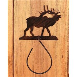 Wrought Iron Elk Collection - Towel Holders
