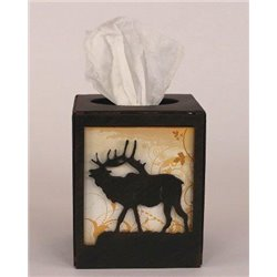 Wrought Iron Elk Collection - Tissue Box Covers