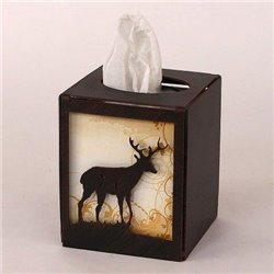 Wrought Iron Deer Collection - Tissue Box Covers