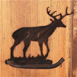 Wrought Iron Deer Collection - Toilet Paper Holders