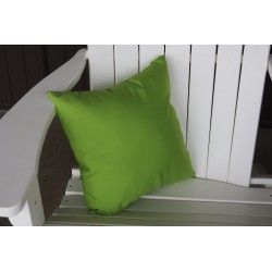 "20"" Outdoor Accessory Pillow for Swing / Bench / Swing Bed / Glider / Rocker / Chair - Lime Green"