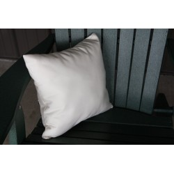 """20"""" Outdoor Accessory Pillow for Swing / Bench / Swing Bed / Glider / Rocker / Chair - Natural"""