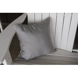 "20"" Outdoor Accessory Pillow for Swing / Bench / Swing Bed / Glider / Rocker / Chair - Gray"