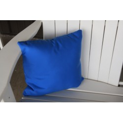 "20"" Outdoor Accessory Pillow for Swing / Bench / Swing Bed / Glider / Rocker / Chair - Light Blue"