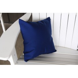 "20"" Outdoor Accessory Pillow for Swing / Bench / Swing Bed / Glider / Rocker / Chair - Navy"
