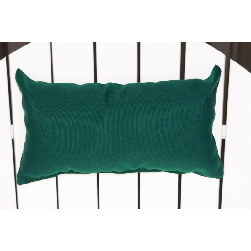 Exceptionnel ... Adirondack Chair Outdoor Head Pillow   Forest Green ...