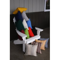 """20"""" Outdoor Accessory Pillow for Swing / Bench / Swing Bed / Glider / Rocker / Chair - Assortment"""