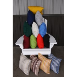 "20"" Outdoor Accessory Pillow for Swing / Bench / Swing Bed / Glider / Rocker / Chair - Assortment"