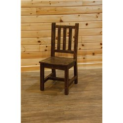 Barn Wood Style Timber Peg Dining Chair
