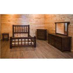 Queen Size Bedroom Set - 5 Piece