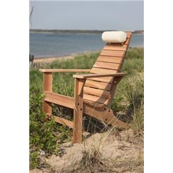 Natural Color Head Pillow on Unfinished Cedar New Hope Chair