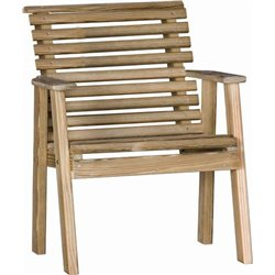 Pressure Treated Pine Rollback Chair
