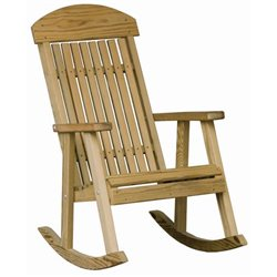 Pressure Treated Pine Porch Rocker