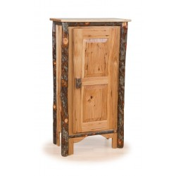 Rustic Hickory Single Pie Safe - Hickory & Oak or All Hickory