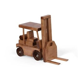 Children's Wood Fork Lift Toy