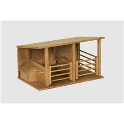 Child's wooden Horse Stable