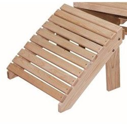 Cypress Wood Adirondack Footrest