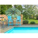 Cypress Bar Chairs with Center Table - SHIPS FULLY ASSEMBLED