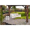 Cypress Mission Style Deep Seat Outdoor Sofa Rope Swing