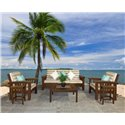 Cypress 6 Piece Outdoor Sofa Set - Unfinished or Painted