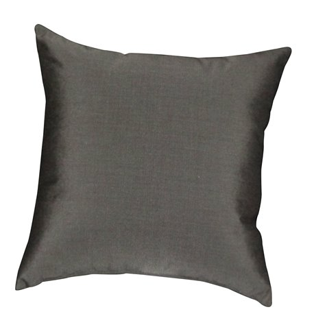 "16"" Days End Throw Pillow in CANVAS COAL"