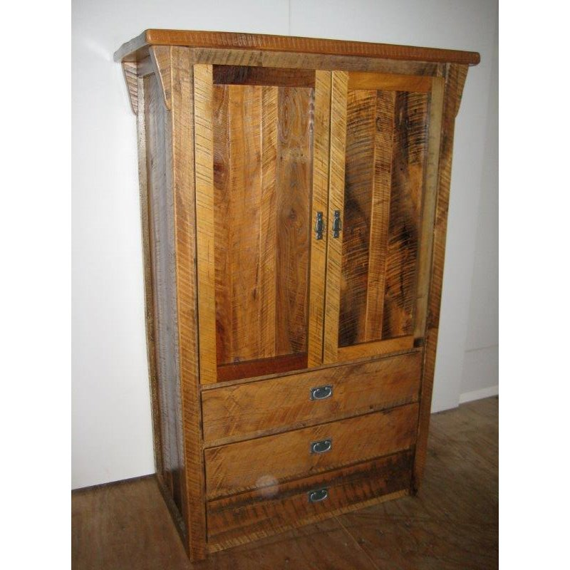 Barn Wood Armoire Stand Alone Closet