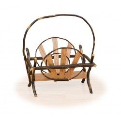 Rustic Hickory & Oak Magazine Rack