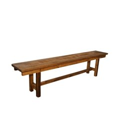 Rustic Reclaimed Barn Wood Plank Bench - 5 Sizes Available