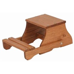 Oak Child's Convertible Child's Chair/Step Stool