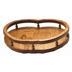 14 inch Apple Shaped Lazy Susan