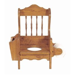 Oak Potty Training Chair