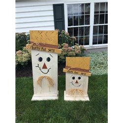Large and Small Scarecrow