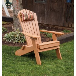 Adirondack Chair Outdoor Head Pillow