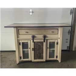 Primitive Kitchen Island in Counter Height - 2 Sizes Available