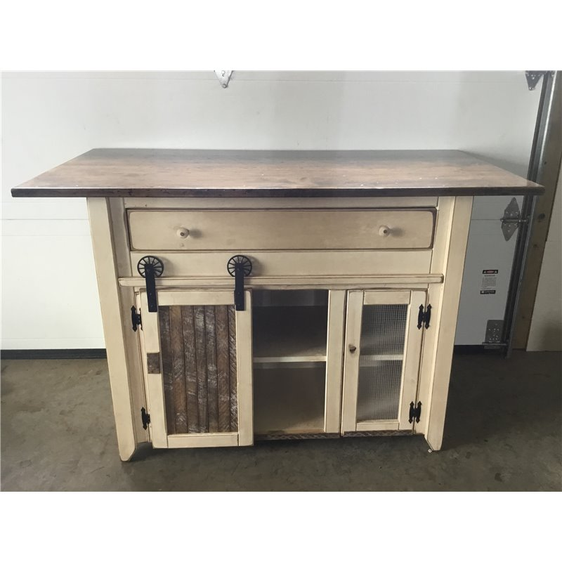 ... Primitive Kitchen Island In Counter Height   2 Sizes Available ...