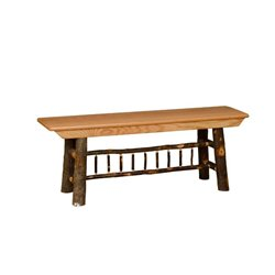 All Hickory Farm Bench