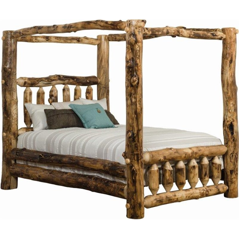 Aspen Canopy Bed