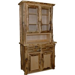 Rustic Aspen 2 Door Hutch