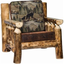 Rustic Aspen Arm Chair