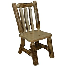 Rustic Aspen Log Side Chairs *Set of 2*