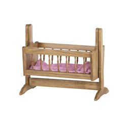 """Toy Doll Swinging Cradle for 12"""" - 18"""" Dolls"""